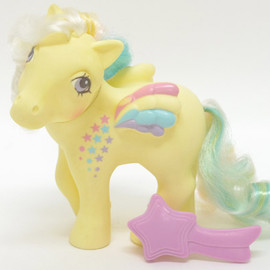My little pony - Ringlet   /Rainbow curl ponies(G1)