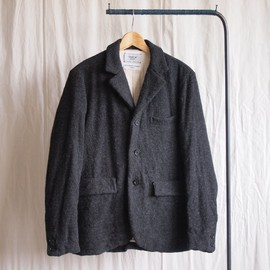 YAECA - Washed Jacket #charcoal