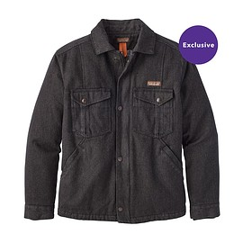 patagonia - M's Iron Forge Hemp™ Canvas Ranch Jacket, Ink Black (INBK)
