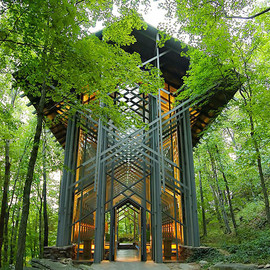 katie hosmer - Non-Denominational Chapel Stands in Harmony with Nature
