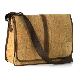 Cork Backpack in Cork with Leather Finishings by Corkor