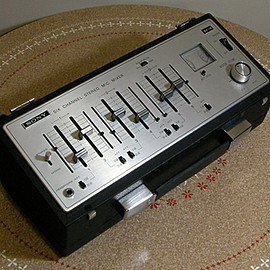 Sony - Six Channel Stereo Mic. Mixer MX-12