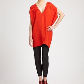 Costume National - V Neck Top
