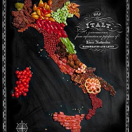 Henry Hargreaves - Food Maps