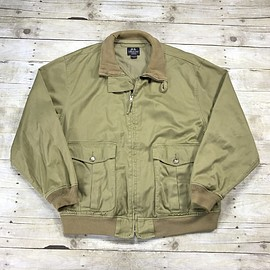 Willis and Geiger - Willis & Geiger Outfitters Tan Cotton Canvas Jacket Mens Size XL