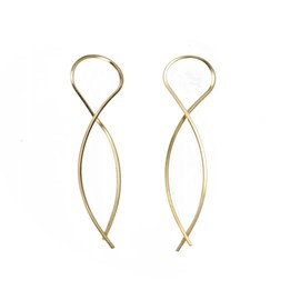 by boe - Mini Twist Arc Earring E56mini