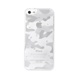 "CEMENT PRODUCE DESIGN, iTattoo - ""appoufage "" for iPhone5/5s White & Silver"