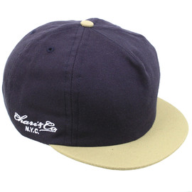 CHARI&CO - wool 6panel cap (navy)