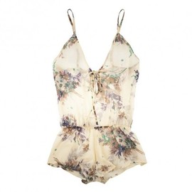 Phyllis - Flower playsuit