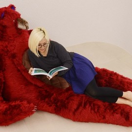 QUZE - MOFURseries Bear Chair (Red)