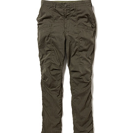 nonnative - EDUCATOR 6P TROUSERS RELAXED FIT P/L WEATHER STRETCH COOLMAX®