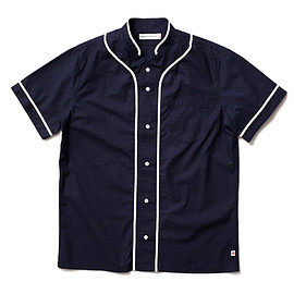 HEAD PORTER PLUS - BASEBALL SHIRT NAVY