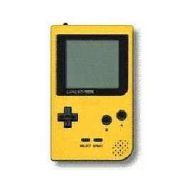 GAME BOY - ゲームボーイポケット イエロー