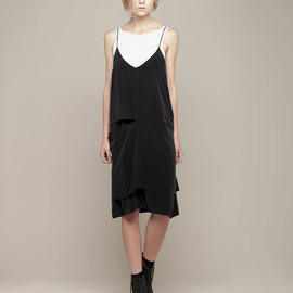 ACNE - LORI SILK DRESS