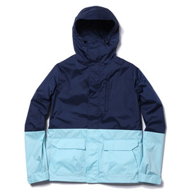 uniform experiment - 2 Tone Hood Blouson