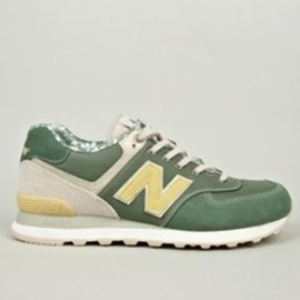 New Balance - Men's Surfer Green ML574OST Made in USA Sneakers