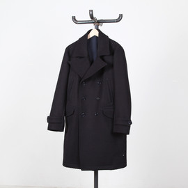 OFFCINEGENERALE - Military Long Peacoat English Wool