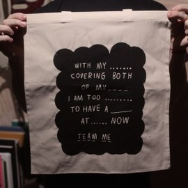 Team Me - With my hands Tote Bag