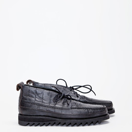 Yuketen - Dress Chukka Gator - Black