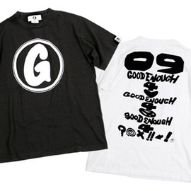 "GOODENOUGH - GOODENOUGH ""Debut"" T-shirts"
