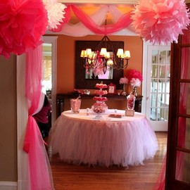 Pink party decorations - Pink party decorations www.partysuppliesnow.com.au