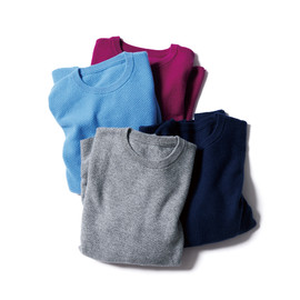 SOPHNET. - CASHMERE THERMAL CREW NECK KNIT