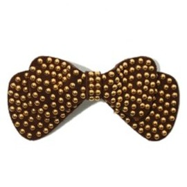 ROSE BUD - STUDDED BOW HAIR ACCESSORIES
