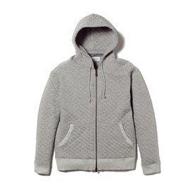 White Mountaineering - QUILTED SWEAT ZIP PARKA