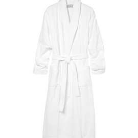 a dressing gown