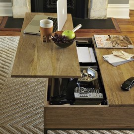 west elm - RUSTIC STORAGE COFFEE TABLE