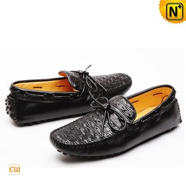 CWMALLS - Mens Lace up Gommino Moccasin Driving Shoes CW740002