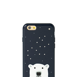 kate spade NEW YORK - resin iphone 6 case sparkle polar bear