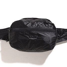 ENGINEERED GARMENTS - UL Waistpack-Black