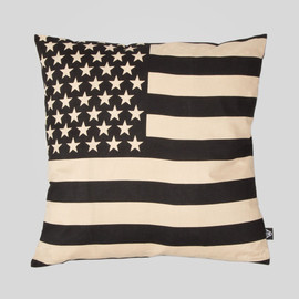 Upper Playground - Old Glory Pillow in Black and Khaki