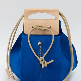 chrisvanveghel - big canvas popup bag