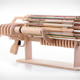 kick starter - RUBBER BAND MACHINE GUN | Image