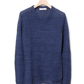 nonnative - ROAMER SWEATER - C/L MIX WOVEN