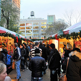 Union Square, New York - FARMERS' MARKET
