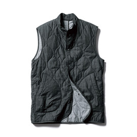SOPHNET. - DENIM QUILTING VEST