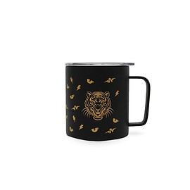 The Athletic, MiiR - The Athletic Coffee Cup Camp Mug - Gold on Black