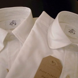 BLACK FLEECE BY Brooks Brothers - white OXFORD shirts