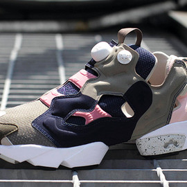 Reebok - Image of Garbstore x Reebok OG Pump Fury Brown/Navy/Dark Preview