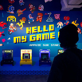 invader - HELLO MY GAME IS...
