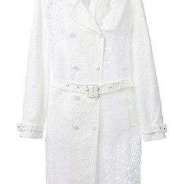 GIVENCHY - Lace trench coat