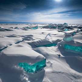 Siberia - Shards of Turquoise Ice