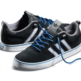 adidas Skateboarding - Silas II Pro - Black/Blue (Fall 2012)