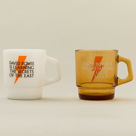 fireking - Fire-King MUG DAVID BOWIE