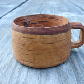 swedish birch bark cup