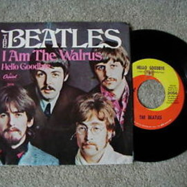 "The Beatles - Hello Goodbye / I Am The Walrus 7"" US Capitol 2056"