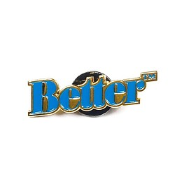 Better™ - Logo Pin